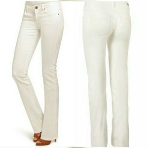 CAbi Jeans Women's size 10 tall Boot Cut Mid Rise